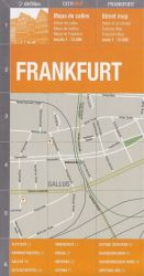 FRANKFURT - CITY MAP