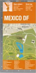 MEXICO DF - CITY MAP