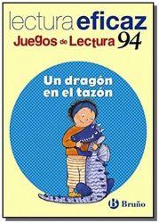UN DRÁGON EN EL TAZÓN - CUADERNO + JUEGOS DE LECTU