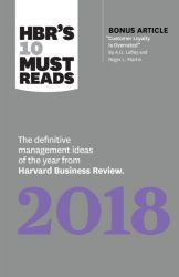 HBRS 10 MUST READS 2018 THE DEFINITIVE M