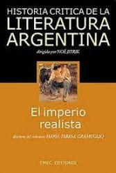 HISTORIA CRÍTICA DE LA LITERATURA ARGENTINA