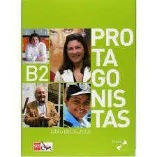 PROTAGONISTAS B2 LIBRO DEL ALUMNO COM CD
